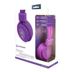 V20 Stereo Headphones Purple