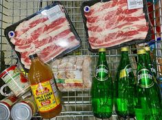 Some essentials. . . . #meat #grocery Apple Cider Vinegar, Essentials, Meat, Instagram, Apple Vinegar, Cider Vinegar