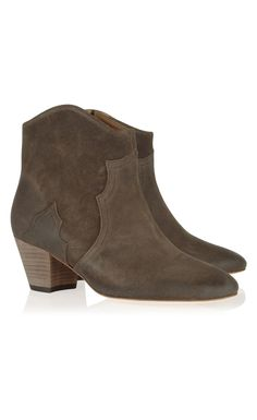 7076e7fc04d Isabel Marant The Dicker Suede Ankle Boots Bronze - Isabel Marant   HappyHalloween!  IM
