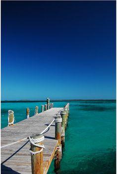 quai, eau, turquoise, ciel bleu, paysage