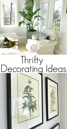 Thrifty Ideas for Decorating the Sunroom (Phase 2)