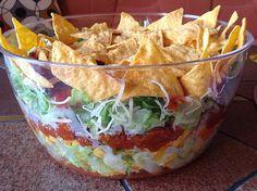 Taco-Salat, ein gutes Rezept aus der Kategorie Party. Bewertungen: 78. Durchschnitt: Ø 4,6.
