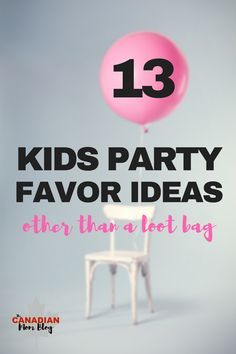 Hosting a kids birthday party soon? Check out these 13 party favors that are better than any loot bag, won't break the bank, and don't suck! Toddler Party Favors, Teen Party Favors, Birthday Party Goodie Bags, Unique Party Favors, Candy Party Favors, Birthday Party For Teens, Party Gift Bags, Birthday Gifts For Boys, Birthday Favors