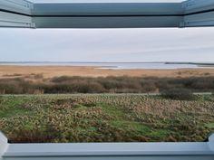 Ein einzigartiger Blick aus unseren Appartments auf das Wattenmeer