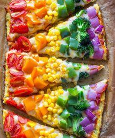 regenboog eten