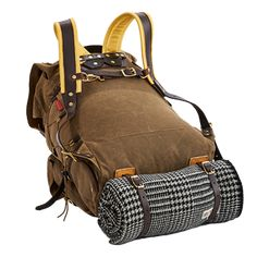 consider an Isle Royale Bushcraft Pack. These rugged waxed canvas packs are overbuilt for years of service in the outdoors, so you know they'll last wherever you use them. Bushcraft Pack, Bushcraft Equipment, Bushcraft Backpack, Canoe Camping, Camping Gear, Backpacking, Diy Camping, Longhunter, Camping Activities