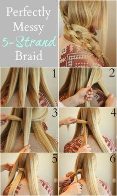strand hår