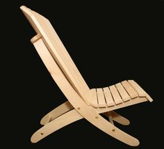 Adirondack Beach Chair Plans - Portable, 2 piece, 2 position - DWG files for CNC machines