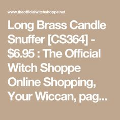 Product name beginner guitar ebook learning to play the guitar long brass candle snuffer cs364 695 the official witch shoppe online shopping fandeluxe Document