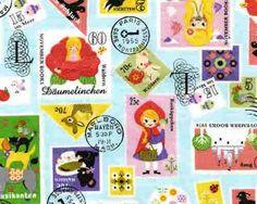 SALE  Push Pin II  Stamp aqua from Kokka Fabrics  1 by JAQSFabrics, $15.00