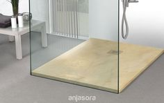 What about starting your week having a shower in this natural #stone tray from our #Onarea collection?