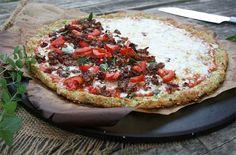 The Best Zucchini Recipe Ever – Zucchini Crust Pizza