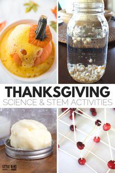 Thanksgiving Activities For Preschoolers