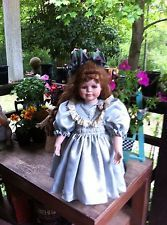 Beautiful Porcelain Doll 20 Inches Tall