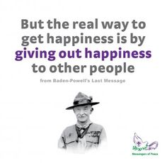 Bp Quote Stunning Leave This World A Better Place  Lord Baden Powell Quote