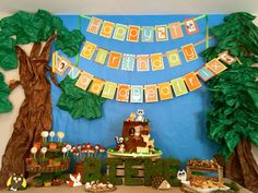 Woodland Forest Friends Birthday Party Ideas | Photo 8 of 17 | Catch My Party