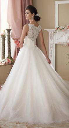 David Tutera for Mon Cheri Spring 2014 Bridal Collection | bellethemagazine.com