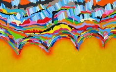 Interesting Strokes of Bright Bands of Acrylic - Wave Avenue