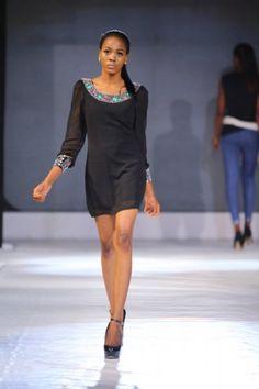 Samson Shoboye @ Lagos Fashion & Design Week 2013 - Day 1 (Lagos, Nigeria)