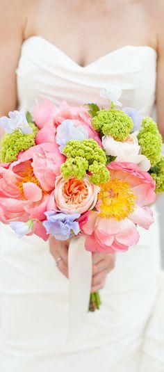 Bouquets a todo color…