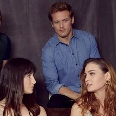 Can't wait to see these 3 together in Outlander season 4