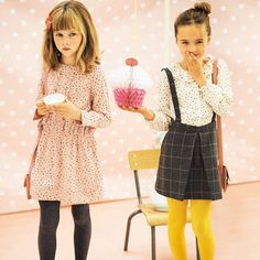 Looks fille - Collection capsule enfant Cyrillus x Elle