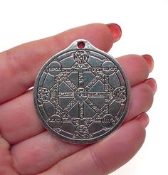 Large Kabbalah Tree of Life Pendant Antique Silver Universal Gnostic Tree of Life Jewelry - Silver Enchantments