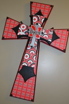"""Found my """"after Christmas"""" project Christmas Projects, Christmas Time, Nebraska Football, Diy And Crafts, Paper Crafts, Spangled Banner, Last Game, Nebraska Cornhuskers, Design Crafts"""