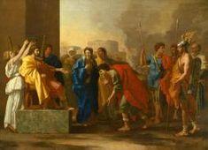 "Description of the painting by Nicolas Poussin ""The generosity of Scipio""Description picture - Poussin Nicolas Google Art Project, Oil On Canvas, Canvas Art, Canvas Prints, Canvas Size, Framed Art Prints, Painting Prints, Paintings, Poussin Nicolas"