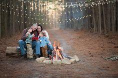 Katie Myrick Photography - Campfire Family Session