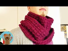Sueter Clarita -a crochet- Snood Knitting Pattern, Knitting Patterns, Crochet Patterns, Design Youtube, Crochet Video, Diy Vetement, Loop Scarf, Crochet Granny, Crochet Scarves