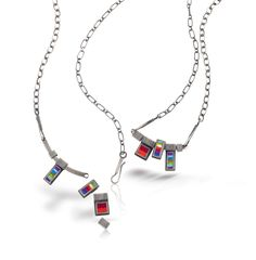 Michele Friedman, American Craft Charm Collection, ACC Charm Necklace #accshow #acccharm #jewelry #finejewelry #handmade #craft #finecraft