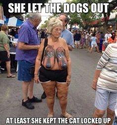 les chiens on le taket à terre!!!