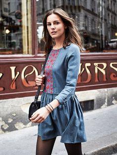 WINTER DRESS TIME ! by Modalist. Collection Automne Hiver - Sézane.com