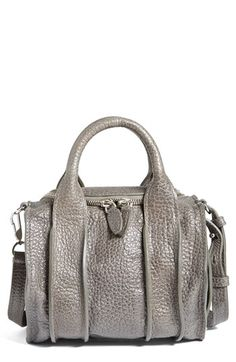 Great metalic satchel! And reasonably priced, too!  Alexander Wang 'Rockie - Inside Out' Leather Satchel   Nordstrom