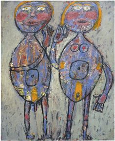 Jean Dubuffet (French, 1901-1985), Ménage en...