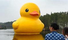 You Can't Put This Rubber Duck into Your Bathtub!