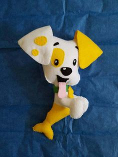 Made to order bubble puppy from bubble guppies.   Check out this item in my Etsy shop https://www.etsy.com/listing/517648543/bubble-puppy-plush-bubble-guppies-felt