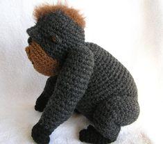 BABY GORILLA PDF Crochet Pattern. $5.00, via Etsy.