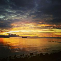 #Sunrise. View from Dumaguete City Rizal Boulevard