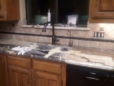 New sink and faucet in!