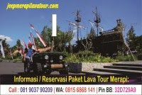 JEEP WISATA MERAPI LAVA TOUR