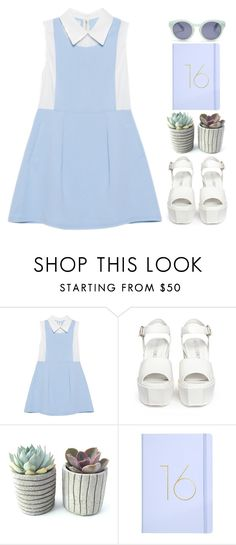 """Pale"" by blissbell ❤ liked on Polyvore featuring Opening Ceremony and Madewell"