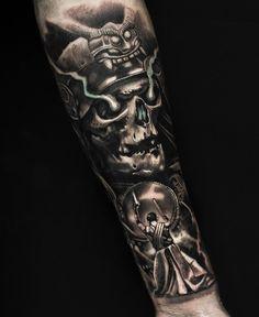 Samurai tattoo by Mumia Tattoo