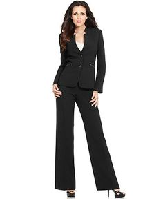 Tahari suit... got one for the World Conference in Miami, FL and absolutely love it!  It's extremely fashion forward!