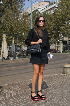 Platforms + Minimal Black