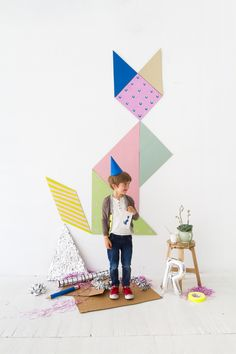 ☆ DIY Giant Tangram