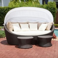 22 best outdoor daybed with canopy images gardens outdoor daybed rh pinterest com