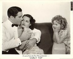 Shirley Temple, John Boles, and Rochelle Hudson in Curly Top The Hollywood Bowl, Hollywood Actor, Golden Age Of Hollywood, Old Hollywood, Classic Hollywood, Mary Blair, Child Actresses, Child Actors, Old Movies