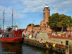 Poland Culture, Visit Poland, Lighthouse Photos, Lighthouses, Scuba Diving, Where To Go, Night Life, Places To Visit, Europe